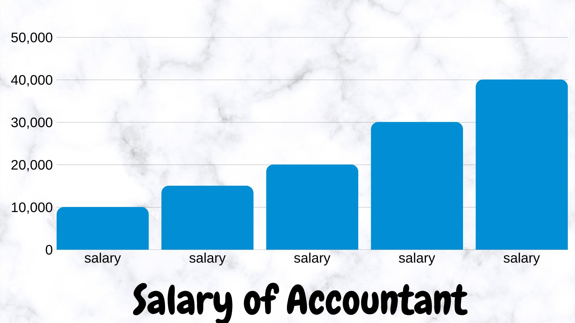 salary of an accountant