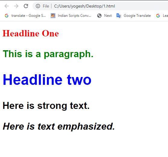 HTML formatting coding