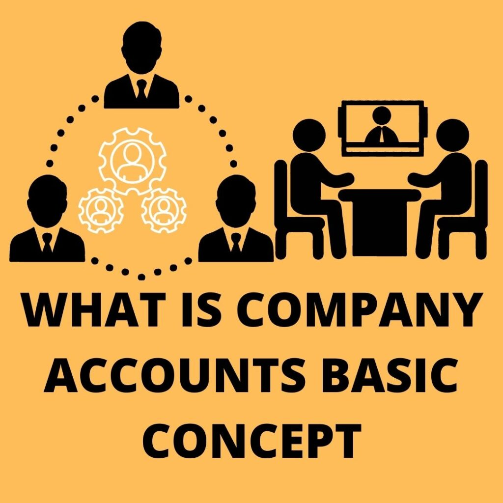 WHAT IS COMPANY ACCOUNTS BASIC CONCEPT
