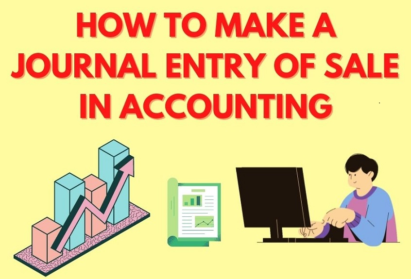 journal entry of Sale in Accounting