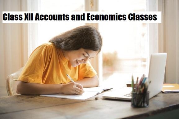 Class XII Accounts and Economics Classes in Dehradun